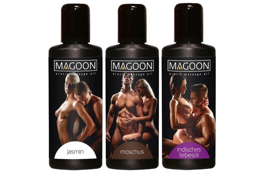 Erotische massage olie