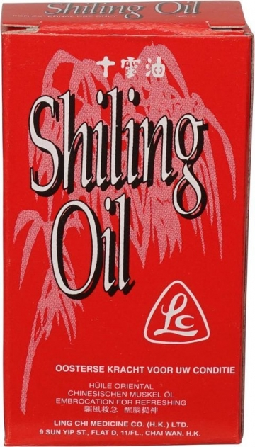 Shiling Oil - 28 ml - massage oil - review test