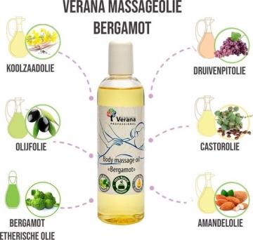 Verana Bergamot massageolie